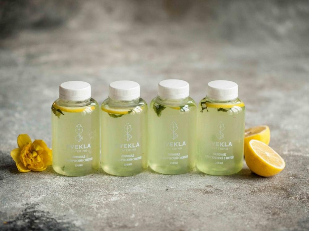 Классический лимонад с мятой